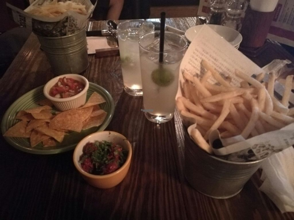 """Photo of Zest Cantina  by <a href=""""/members/profile/Jopijo"""">Jopijo</a> <br/>Homemade ginger ale, marinated olives, nachos,  and french fries <br/> November 6, 2016  - <a href='/contact/abuse/image/82319/186792'>Report</a>"""