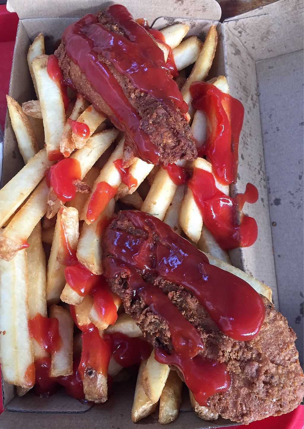 """Photo of Lord of the Fries - Britomart  by <a href=""""/members/profile/Jameskille"""">Jameskille</a> <br/>fried chick'n <br/> July 25, 2017  - <a href='/contact/abuse/image/82326/284608'>Report</a>"""