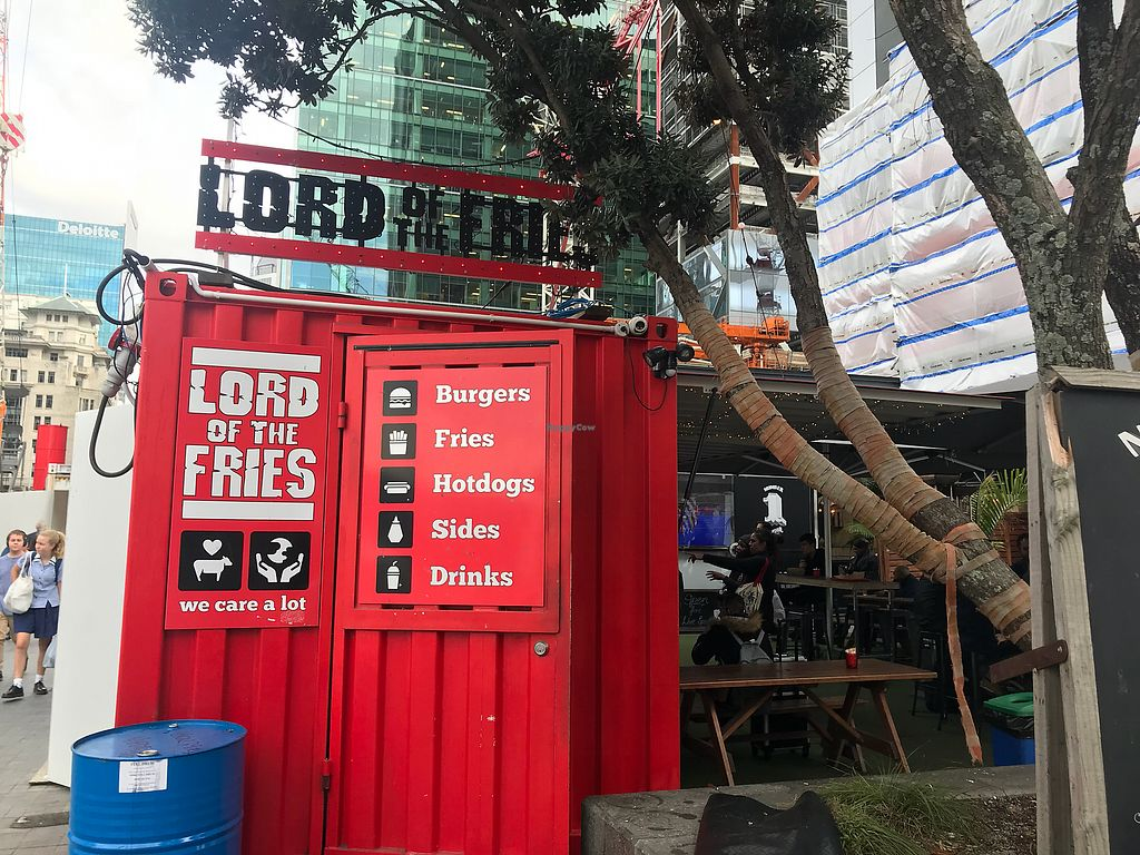 """Photo of Lord of the Fries - Britomart  by <a href=""""/members/profile/LenaHaapala"""">LenaHaapala</a> <br/>Cool storage container  <br/> April 13, 2018  - <a href='/contact/abuse/image/82326/384903'>Report</a>"""