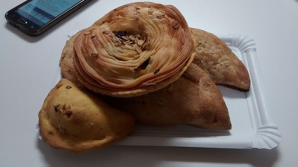 "Photo of Confiteria Maiquez  by <a href=""/members/profile/LeFunks"">LeFunks</a> <br/>Assorted savoury pastries and small pasties <br/> December 15, 2017  - <a href='/contact/abuse/image/82345/335758'>Report</a>"