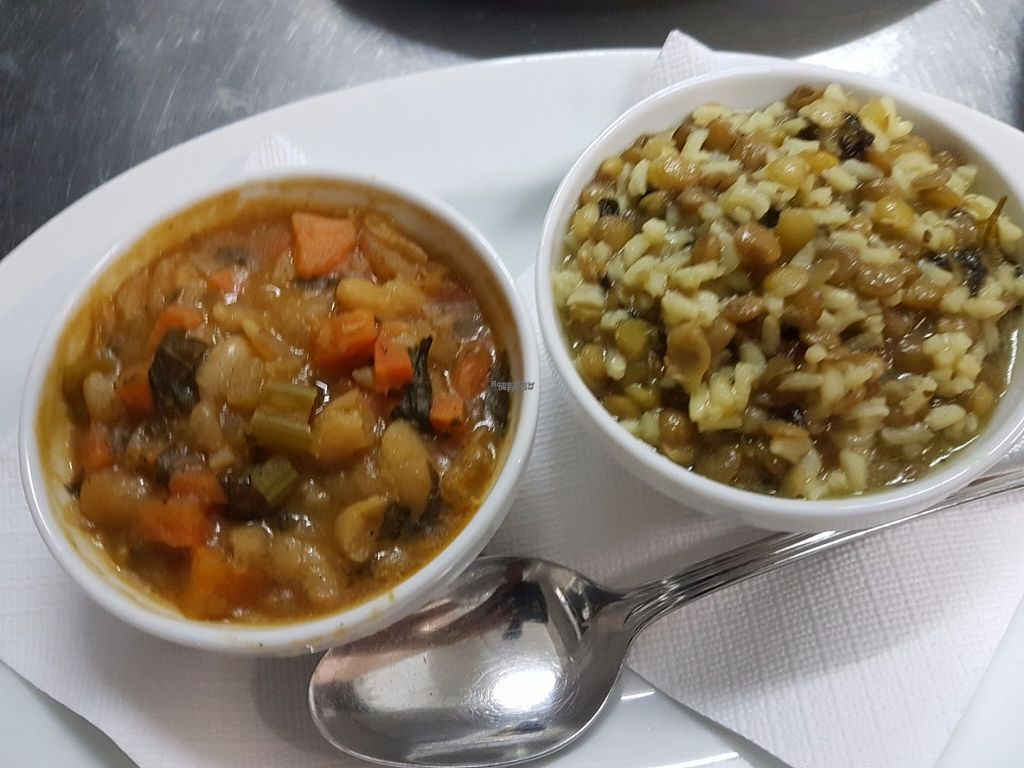 "Photo of Windmill Restaurant Paphos  by <a href=""/members/profile/NancyKathitziotou"">NancyKathitziotou</a> <br/>Green lentils and white beans stew! Both suitable for vegans/vegetarians <br/> November 6, 2016  - <a href='/contact/abuse/image/82349/187019'>Report</a>"
