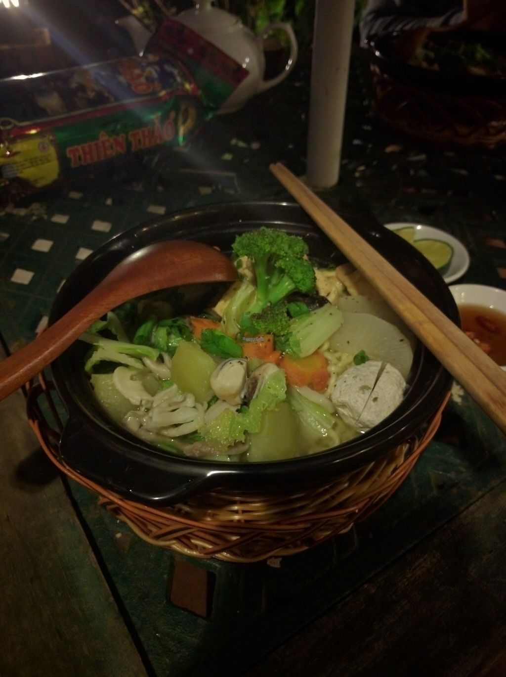 """Photo of Vegan Villa  by <a href=""""/members/profile/TeddyCourage"""">TeddyCourage</a> <br/>a delicious meal prepared by Thanh's sister <br/> November 15, 2016  - <a href='/contact/abuse/image/82353/190245'>Report</a>"""