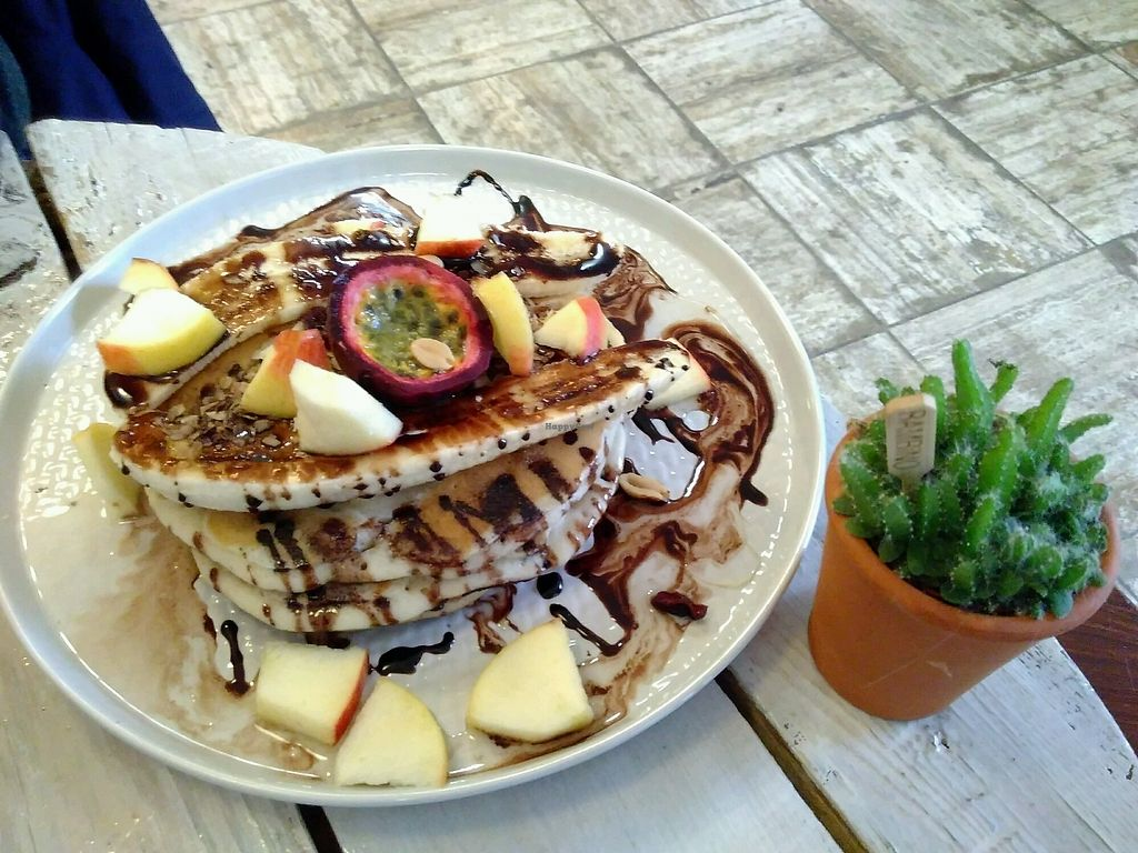 """Photo of KAFETHEA  by <a href=""""/members/profile/EmmyVD"""">EmmyVD</a> <br/>vegan pancakes <br/> December 24, 2017  - <a href='/contact/abuse/image/82368/338672'>Report</a>"""