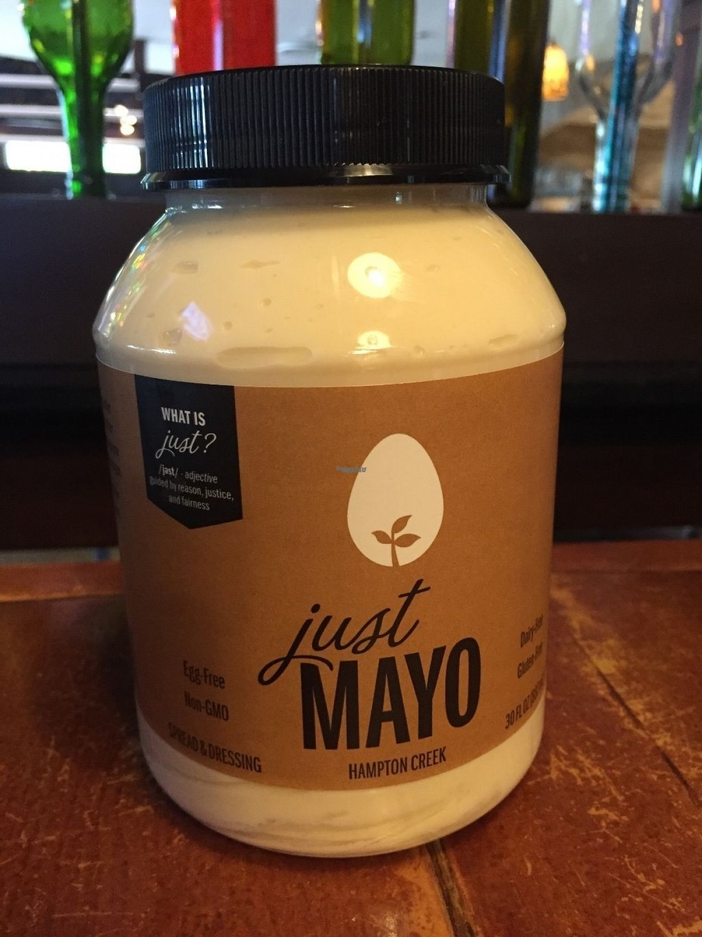 """Photo of Mellow Mushroom  by <a href=""""/members/profile/Kruss23"""">Kruss23</a> <br/>Proudly server the Vegan mayo - Just Mayo <br/> November 5, 2016  - <a href='/contact/abuse/image/82376/186670'>Report</a>"""
