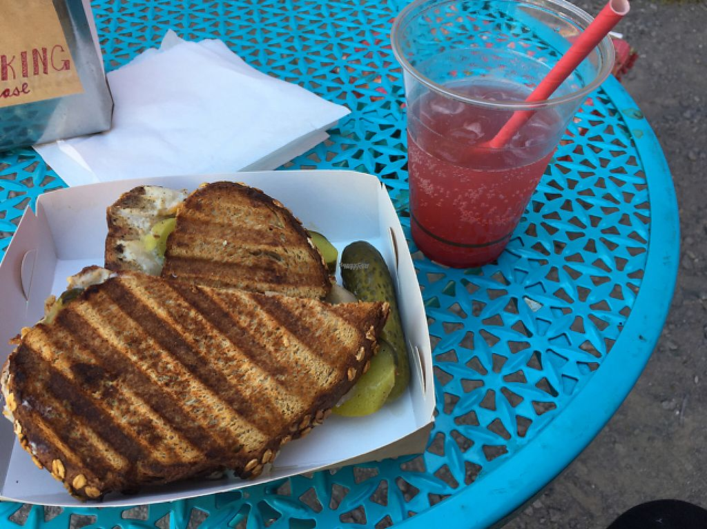 """Photo of Bury Me Standing Coffee  by <a href=""""/members/profile/sbszine"""">sbszine</a> <br/>Vegan reuben <br/> March 9, 2017  - <a href='/contact/abuse/image/82388/234358'>Report</a>"""