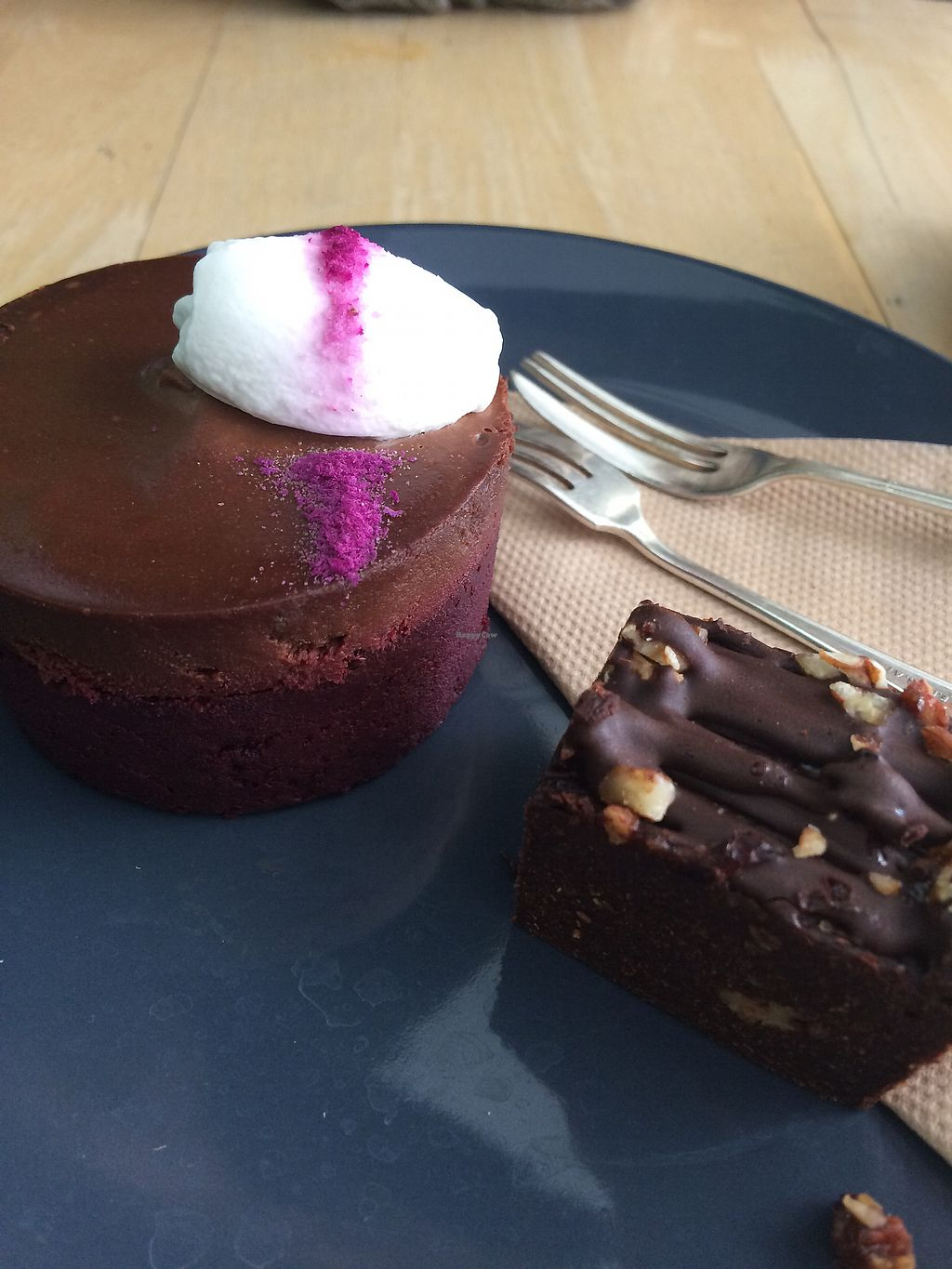 "Photo of The Little Shop of Plenty  by <a href=""/members/profile/veroniquerachel"">veroniquerachel</a> <br/>Beetroot cake and pecan brownie  <br/> December 17, 2017  - <a href='/contact/abuse/image/82402/336306'>Report</a>"