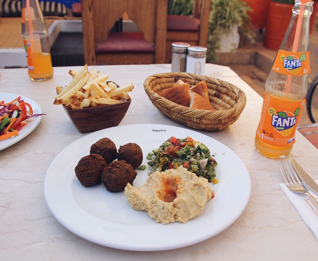 "Photo of Cafe Clock  by <a href=""/members/profile/tiggyh"">tiggyh</a> <br/>falafel, hummus & tabbouleh <br/> September 6, 2017  - <a href='/contact/abuse/image/82427/301536'>Report</a>"