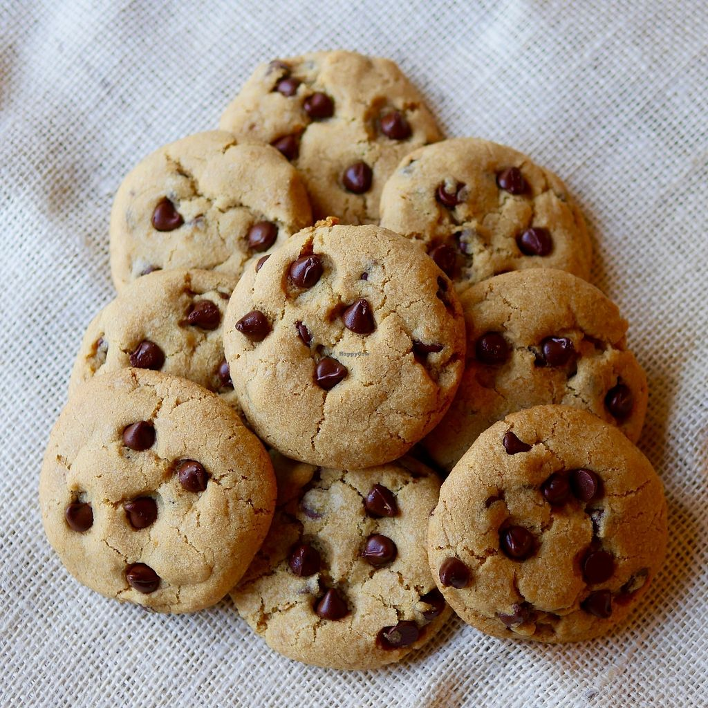 """Photo of Vegan East  by <a href=""""/members/profile/VeganEast"""">VeganEast</a> <br/>Chocolate Chip Cookies <br/> February 9, 2018  - <a href='/contact/abuse/image/82442/356969'>Report</a>"""