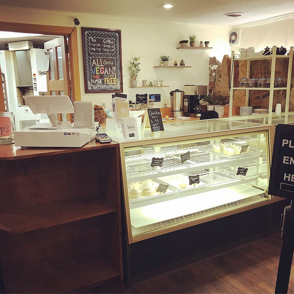 """Photo of Vegan East  by <a href=""""/members/profile/KarenTatur"""">KarenTatur</a> <br/>Display case <br/> March 9, 2018  - <a href='/contact/abuse/image/82442/368309'>Report</a>"""