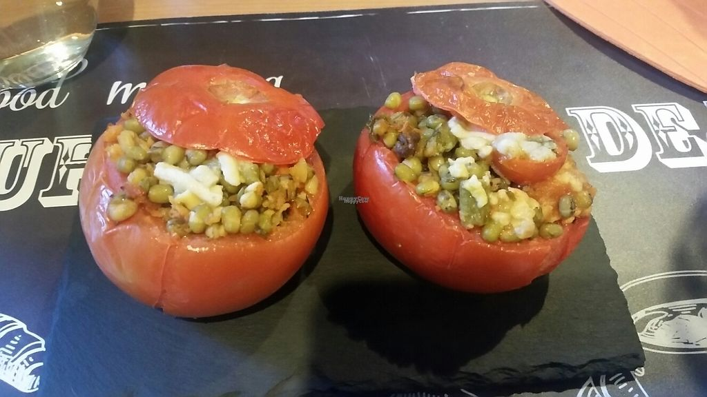 """Photo of Veggie's World  by <a href=""""/members/profile/Mimi710"""">Mimi710</a> <br/>stuffed tomato dish  <br/> November 28, 2016  - <a href='/contact/abuse/image/82446/195458'>Report</a>"""