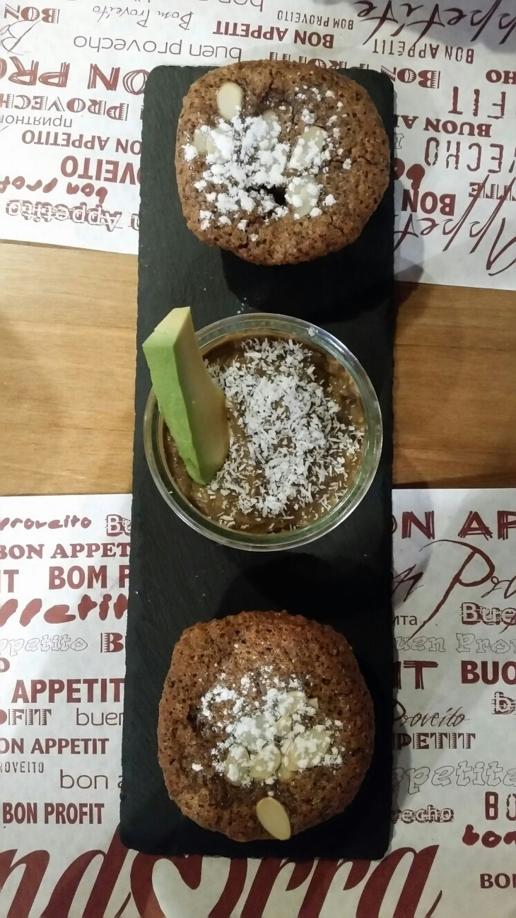 """Photo of Veggie's World  by <a href=""""/members/profile/stachelbeere"""">stachelbeere</a> <br/>gluten free vegan cupcakes and avocado mousse <br/> May 23, 2017  - <a href='/contact/abuse/image/82446/261786'>Report</a>"""