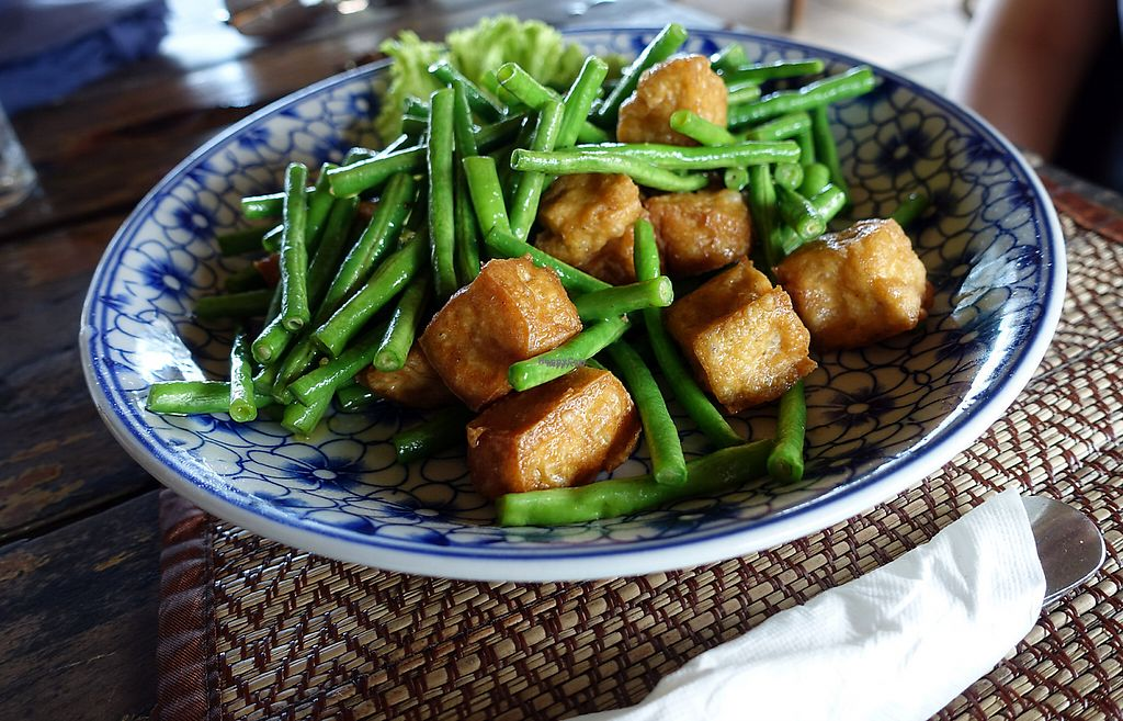 """Photo of Lazy Beach  by <a href=""""/members/profile/DusselDaene"""">DusselDaene</a> <br/>Green beans with tofu <br/> November 15, 2016  - <a href='/contact/abuse/image/82463/190703'>Report</a>"""