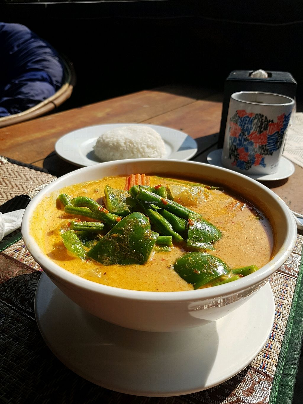 """Photo of Lazy Beach  by <a href=""""/members/profile/vegatleticas"""">vegatleticas</a> <br/>Coconut curry <br/> February 24, 2018  - <a href='/contact/abuse/image/82463/362995'>Report</a>"""