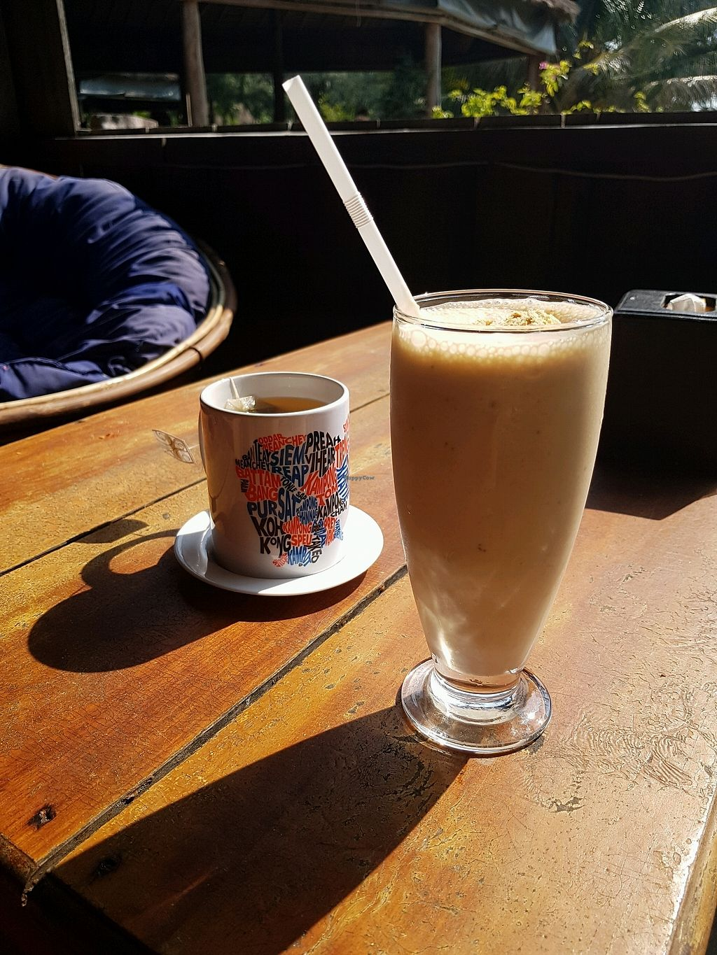 """Photo of Lazy Beach  by <a href=""""/members/profile/vegatleticas"""">vegatleticas</a> <br/>Banana and Peanut Butter shake <br/> February 24, 2018  - <a href='/contact/abuse/image/82463/362996'>Report</a>"""