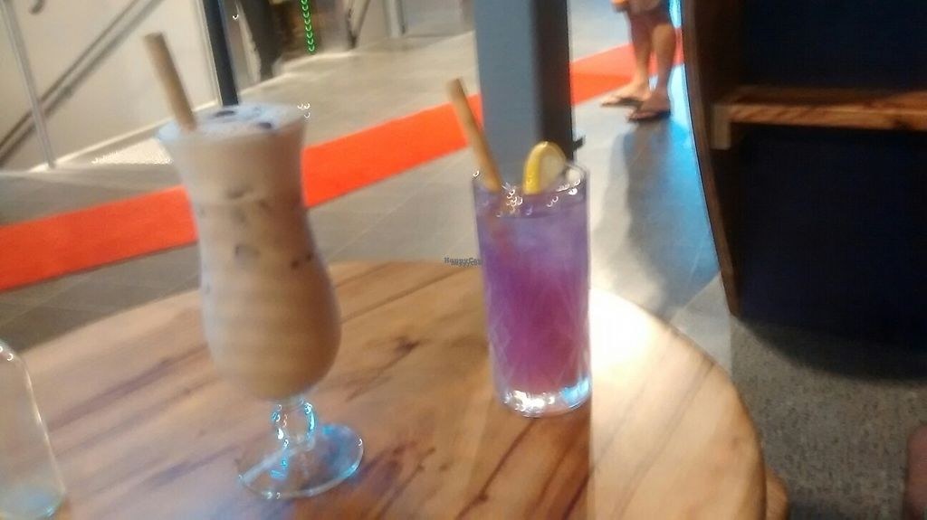 """Photo of Elixiba - Gold Coast  by <a href=""""/members/profile/chalybeus"""">chalybeus</a> <br/>iced chai and chamaeleon lemonade <br/> February 11, 2017  - <a href='/contact/abuse/image/82474/225185'>Report</a>"""