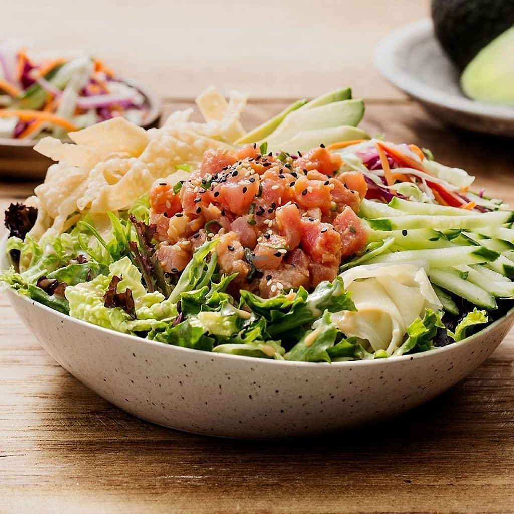 """Photo of Pei Wei Asian Diner  by <a href=""""/members/profile/community"""">community</a> <br/>Avocado Salad <br/> March 15, 2017  - <a href='/contact/abuse/image/82478/236653'>Report</a>"""
