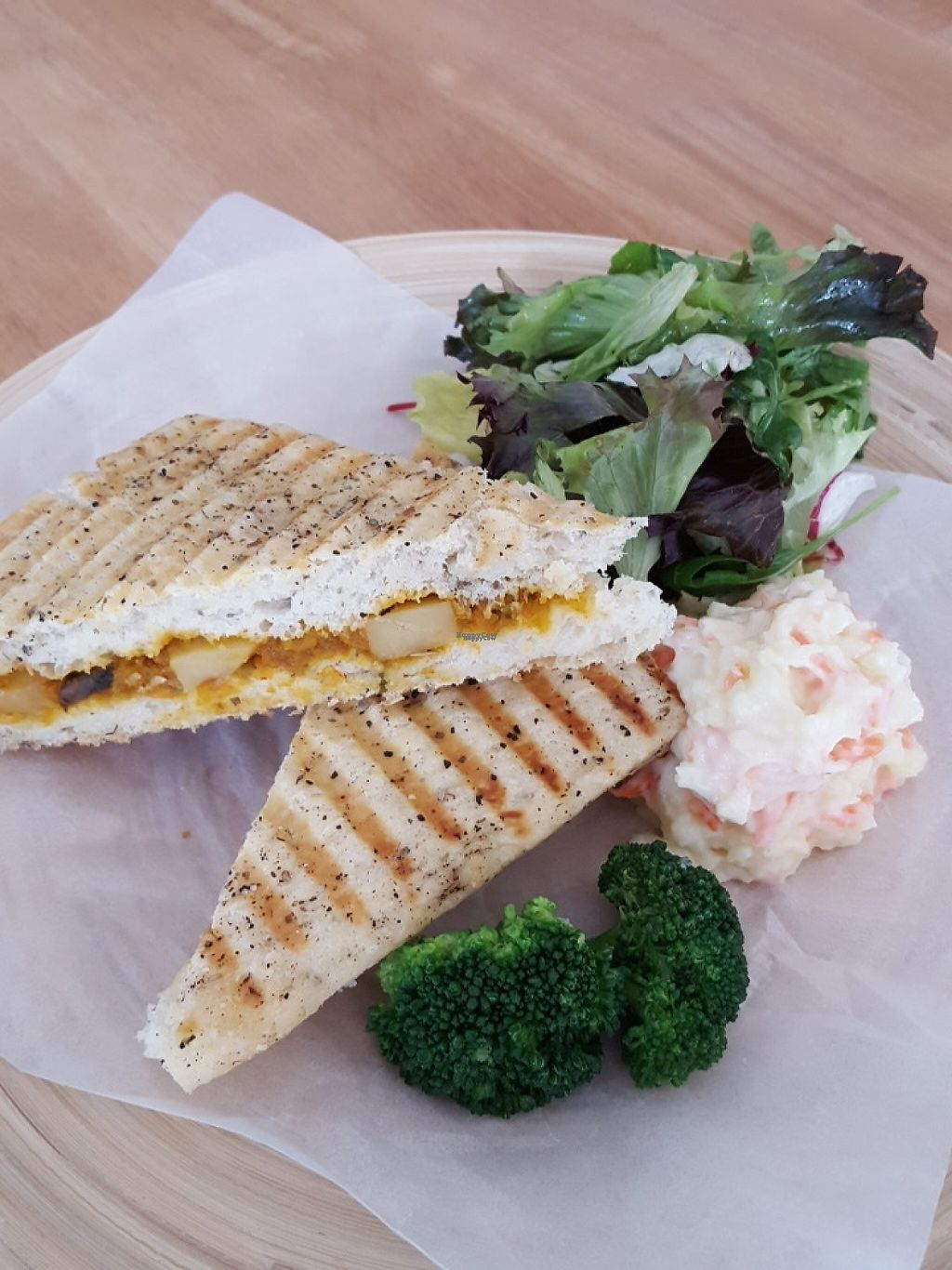 "Photo of Yi Ke Shu - Tanjung Bungah  by <a href=""/members/profile/ThatVeganCouple"">ThatVeganCouple</a> <br/>Pumpkin sandwich with vegan Japanese mash potato instead of fries <br/> December 4, 2016  - <a href='/contact/abuse/image/82482/197160'>Report</a>"