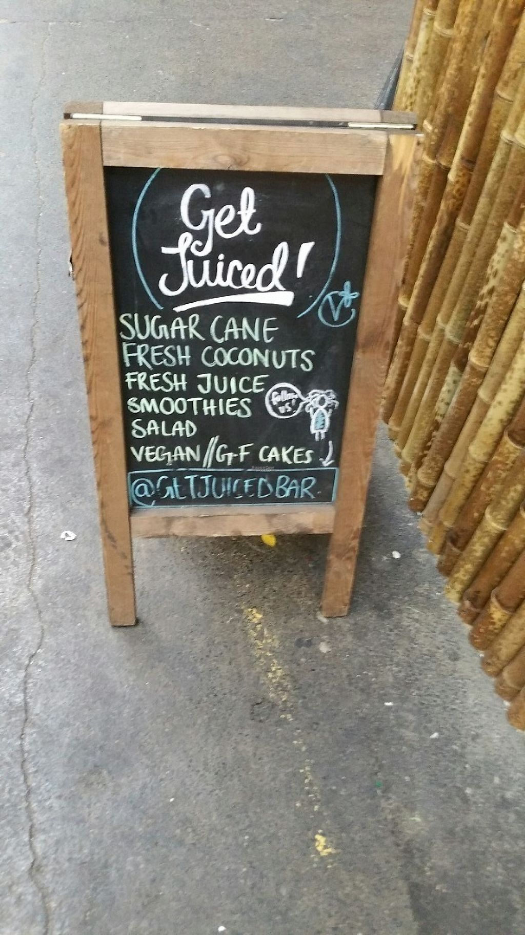 """Photo of Get Juiced  by <a href=""""/members/profile/jollypig"""">jollypig</a> <br/>An informative sign about juices <br/> April 23, 2017  - <a href='/contact/abuse/image/82486/251543'>Report</a>"""
