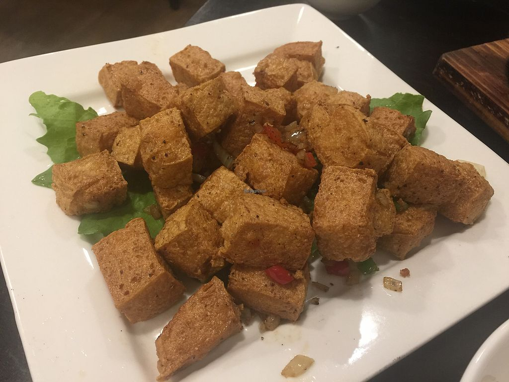 "Photo of Huong Viet  by <a href=""/members/profile/Tiggy"">Tiggy</a> <br/>Salt and pepper deep-fried tofu <br/> September 27, 2017  - <a href='/contact/abuse/image/82526/308997'>Report</a>"