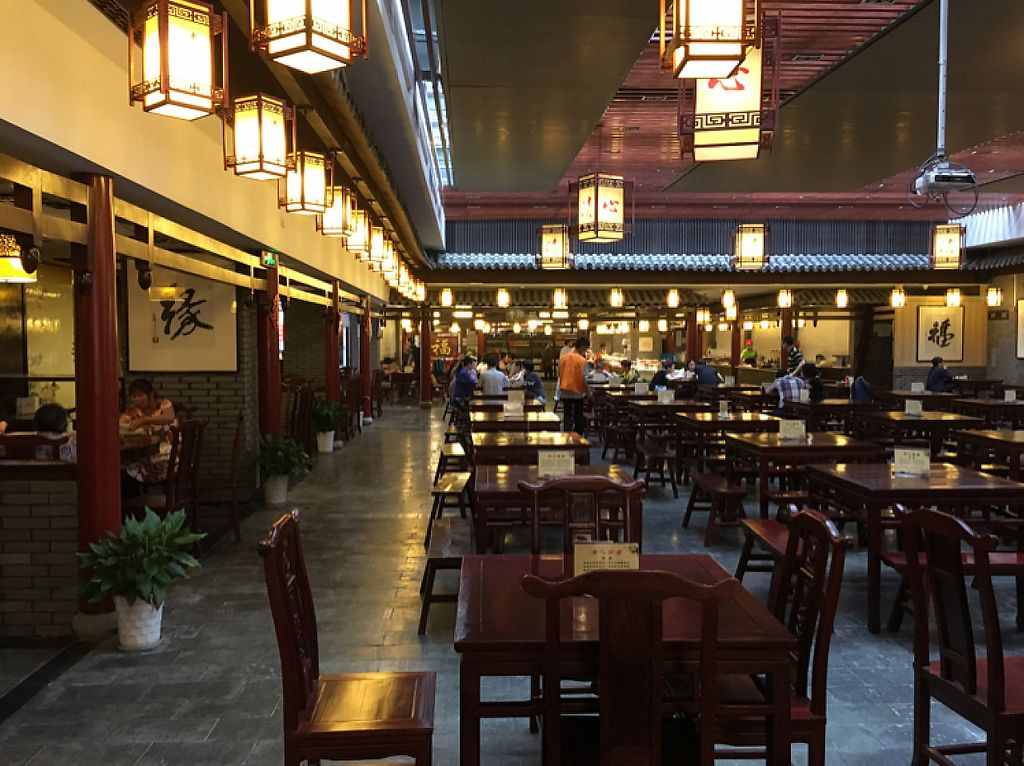 """Photo of Qing Xin Vegetarian  by <a href=""""/members/profile/Kitty%20cow"""">Kitty cow</a> <br/>dining hall <br/> May 15, 2017  - <a href='/contact/abuse/image/82531/259051'>Report</a>"""