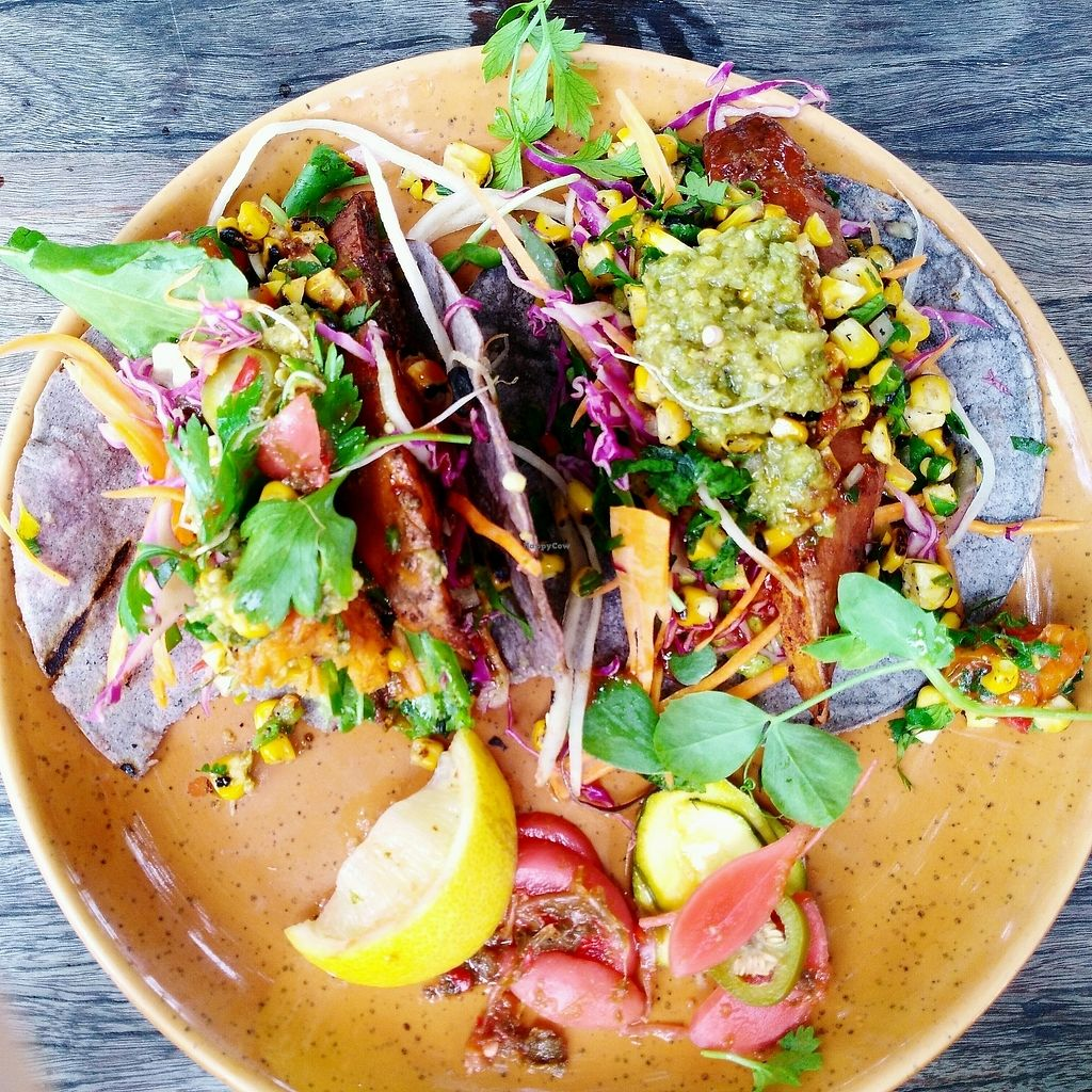 """Photo of Roadhouse  by <a href=""""/members/profile/blablabla"""">blablabla</a> <br/>sweet potato tacos @roadhousebyronbay  <br/> March 5, 2018  - <a href='/contact/abuse/image/82534/367227'>Report</a>"""