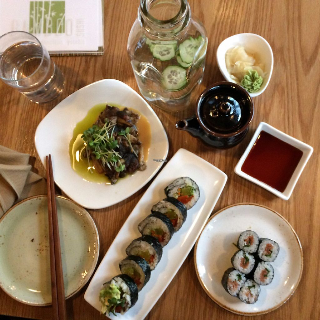 """Photo of Bamboo Sushi  by <a href=""""/members/profile/evoontoast"""">evoontoast</a> <br/>sushi party! <br/> February 27, 2017  - <a href='/contact/abuse/image/82556/230988'>Report</a>"""