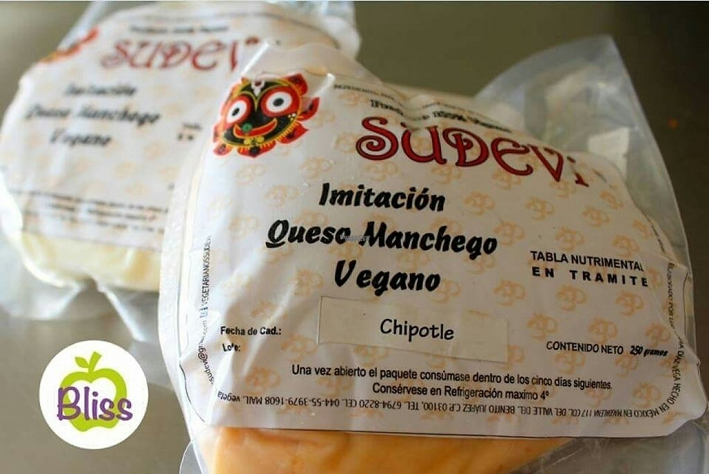 "Photo of Bliss Tienda Vegana  by <a href=""/members/profile/IrisCornejo"">IrisCornejo</a> <br/>vegan cheese <br/> November 17, 2016  - <a href='/contact/abuse/image/82558/191411'>Report</a>"