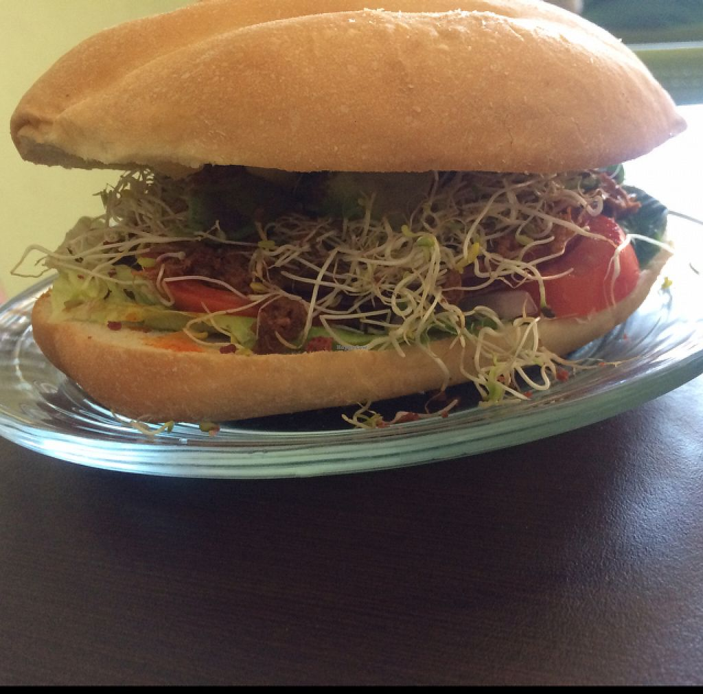 "Photo of Bliss Tienda Vegana  by <a href=""/members/profile/vivzan"">vivzan</a> <br/>vegan chilorio sandwich  <br/> May 23, 2017  - <a href='/contact/abuse/image/82558/261616'>Report</a>"