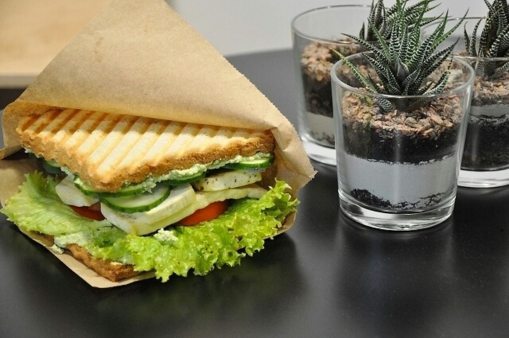 """Photo of Vegano Hooligano  by <a href=""""/members/profile/VHIF"""">VHIF</a> <br/>Tofu sandwich  <br/> December 19, 2016  - <a href='/contact/abuse/image/82574/202796'>Report</a>"""