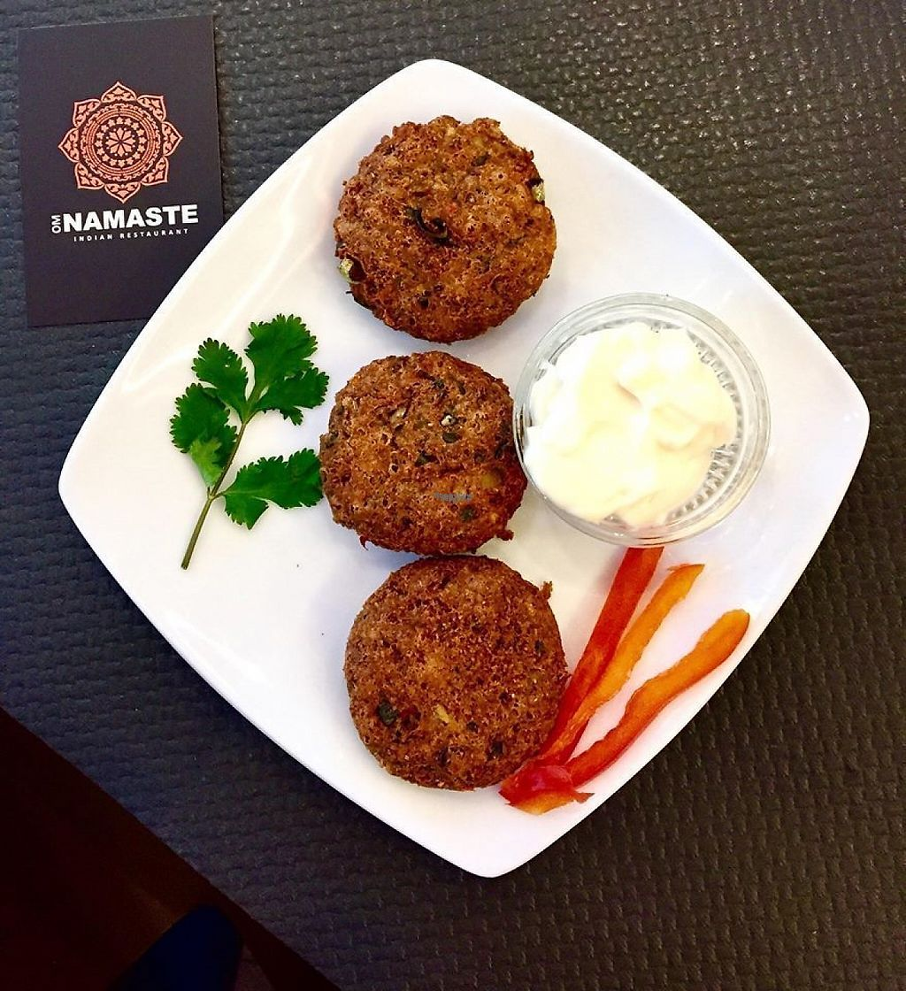 """Photo of Namaste Indian Restaurant  by <a href=""""/members/profile/namasteindian"""">namasteindian</a> <br/>Vegan Bara from Nepal <br/> January 4, 2017  - <a href='/contact/abuse/image/82579/207990'>Report</a>"""