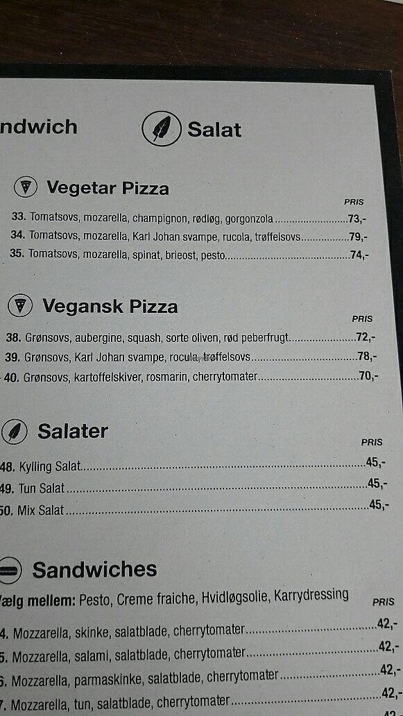 "Photo of Kolonial 2100 Pizzeria  by <a href=""/members/profile/piffelina"">piffelina</a> <br/>Vegan part of menu <br/> July 3, 2017  - <a href='/contact/abuse/image/82580/276156'>Report</a>"