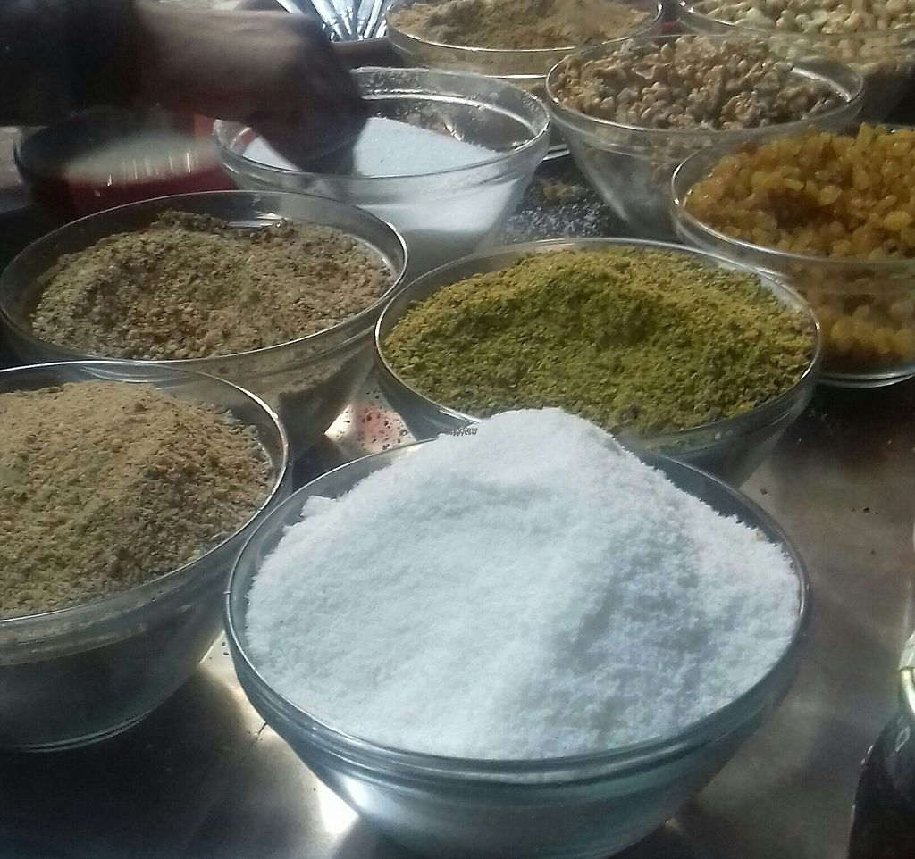 """Photo of Sorghum Porridge - Food Stall  by <a href=""""/members/profile/Essia"""">Essia</a> <br/>Toppings  <br/> November 11, 2016  - <a href='/contact/abuse/image/82581/188508'>Report</a>"""