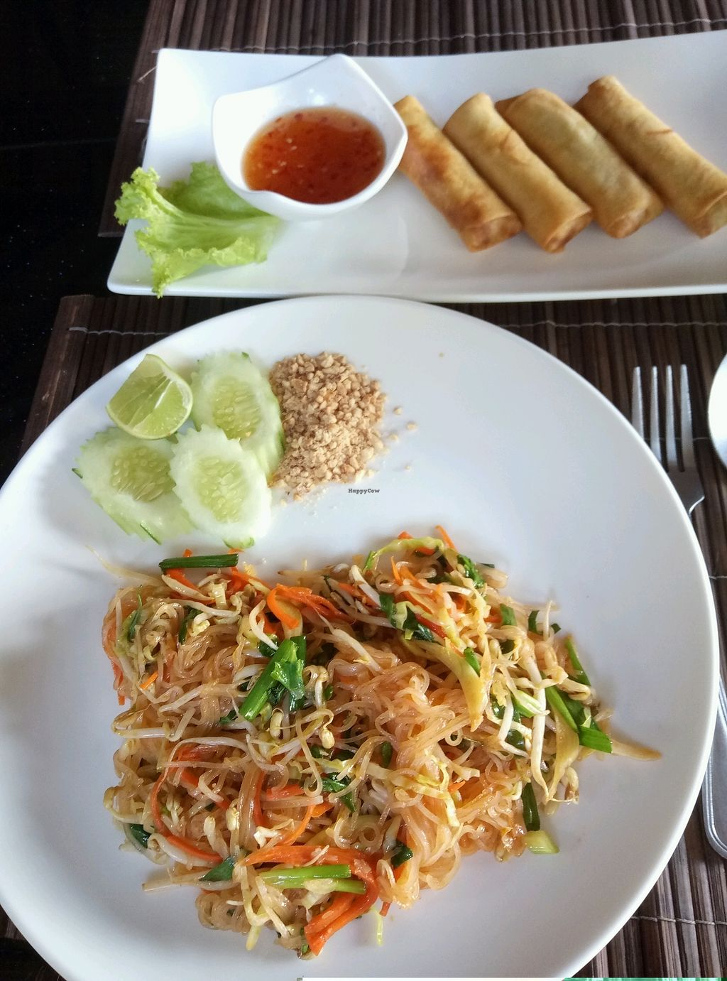 "Photo of Ten Moons  by <a href=""/members/profile/SamanthaBurns"">SamanthaBurns</a> <br/>Pad thai and spring rolls <br/> February 19, 2018  - <a href='/contact/abuse/image/82592/361321'>Report</a>"