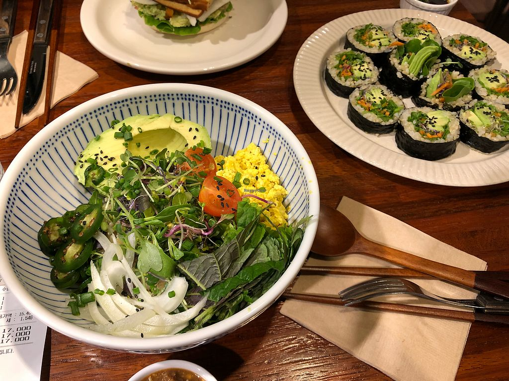 """Photo of The Picker - 더 피커  by <a href=""""/members/profile/Knauji82"""">Knauji82</a> <br/>Tofu avocado rice bowl <br/> December 2, 2017  - <a href='/contact/abuse/image/82594/331451'>Report</a>"""
