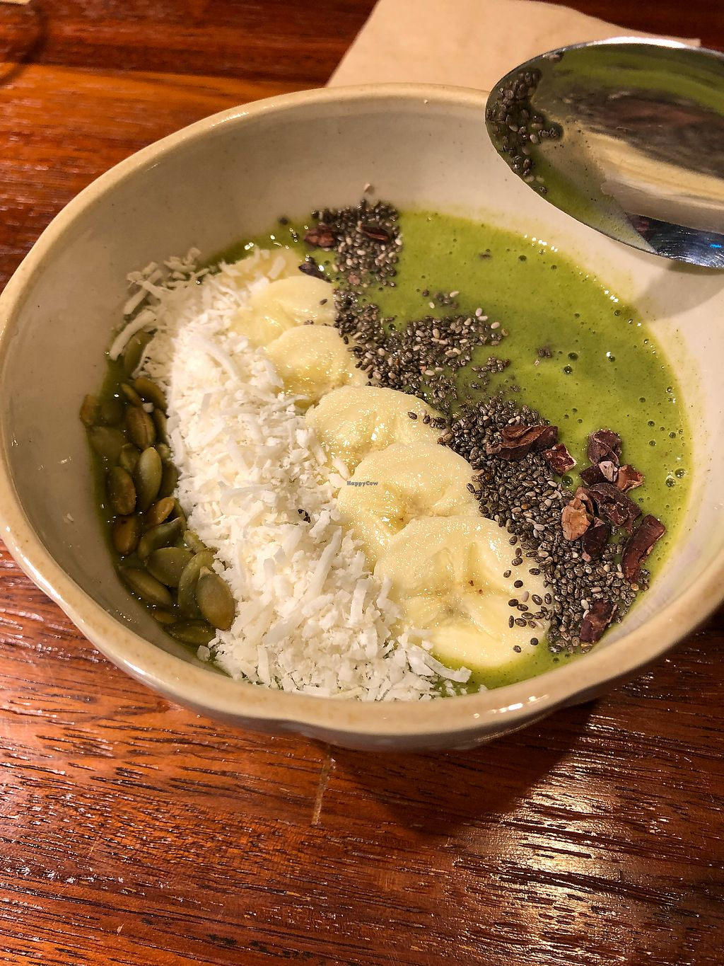 """Photo of The Picker - 더 피커  by <a href=""""/members/profile/Knauji82"""">Knauji82</a> <br/>Half of a match smoothie bowl <br/> December 2, 2017  - <a href='/contact/abuse/image/82594/331452'>Report</a>"""