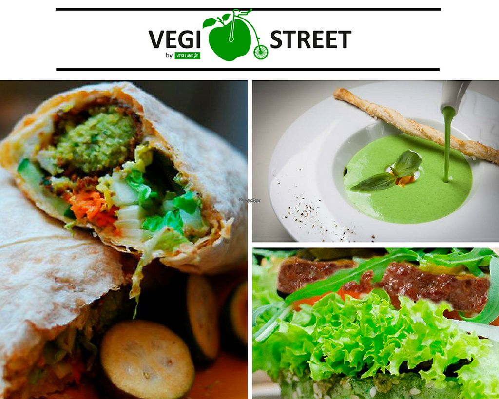 "Photo of Vegi Street  by <a href=""/members/profile/modern_esthetic"">modern_esthetic</a> <br/>Falafel, soup and burger in Vegi Street menu, Kharkiv <br/> November 15, 2016  - <a href='/contact/abuse/image/82597/190491'>Report</a>"