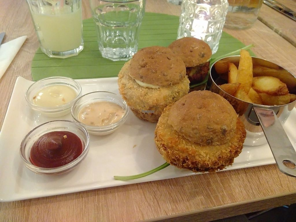 "Photo of Vegan Express  by <a href=""/members/profile/VictorHugoLimachi"">VictorHugoLimachi</a> <br/>Magic burger night! <br/> April 1, 2017  - <a href='/contact/abuse/image/82619/243481'>Report</a>"