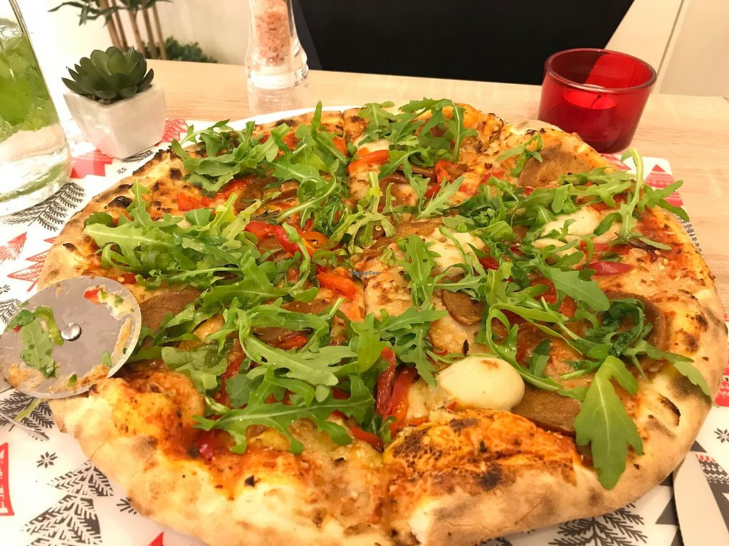 "Photo of Vegan Express  by <a href=""/members/profile/the_jez"">the_jez</a> <br/>Vegan Express Pizza <br/> February 3, 2018  - <a href='/contact/abuse/image/82619/354607'>Report</a>"