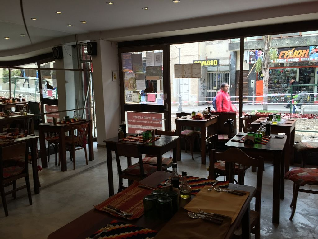 """Photo of Madre Tierra  by <a href=""""/members/profile/Wuji_Luiji"""">Wuji_Luiji</a> <br/>Inside the restaurant  <br/> May 26, 2016  - <a href='/contact/abuse/image/8261/150914'>Report</a>"""