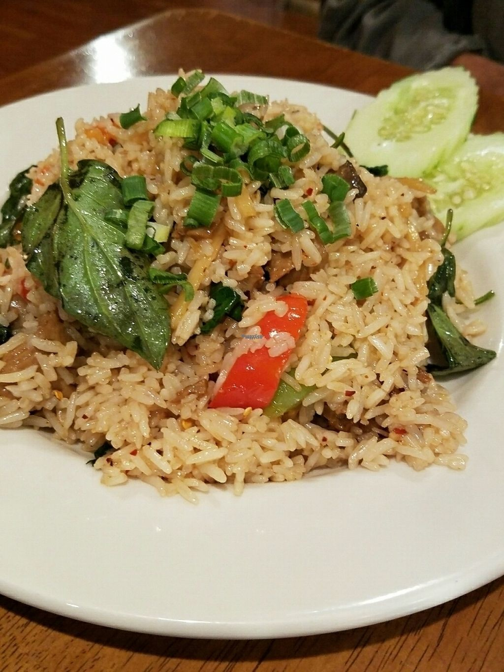 "Photo of Tiny Thai Restaurant  by <a href=""/members/profile/andreathinks"">andreathinks</a> <br/>Basil Fried Rice with Tofu <br/> November 14, 2016  - <a href='/contact/abuse/image/82698/189829'>Report</a>"