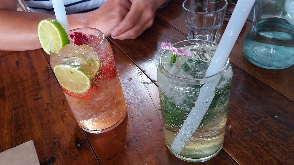 """Photo of Punnet Cafe  by <a href=""""/members/profile/Diz%20Parker"""">Diz Parker</a> <br/>Kombucha with strawberries and elderflower fizz - refreshing <br/> January 11, 2017  - <a href='/contact/abuse/image/82709/210622'>Report</a>"""