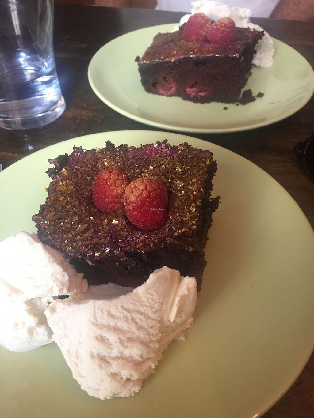 """Photo of Vegan Food Pimp - Pop-up  by <a href=""""/members/profile/alice28"""">alice28</a> <br/>Chocolate and raspberry cake <br/> March 1, 2018  - <a href='/contact/abuse/image/82726/365380'>Report</a>"""