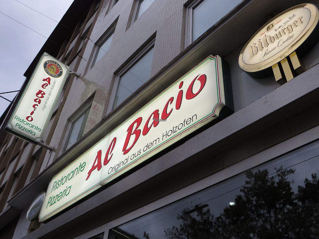 """Photo of Al Bacio Ristorante Pizzeria  by <a href=""""/members/profile/VegiAnna"""">VegiAnna</a> <br/>The restaurant looks unspectacular from the outside, being located in a modern building on a busy main road <br/> November 13, 2016  - <a href='/contact/abuse/image/82733/189809'>Report</a>"""