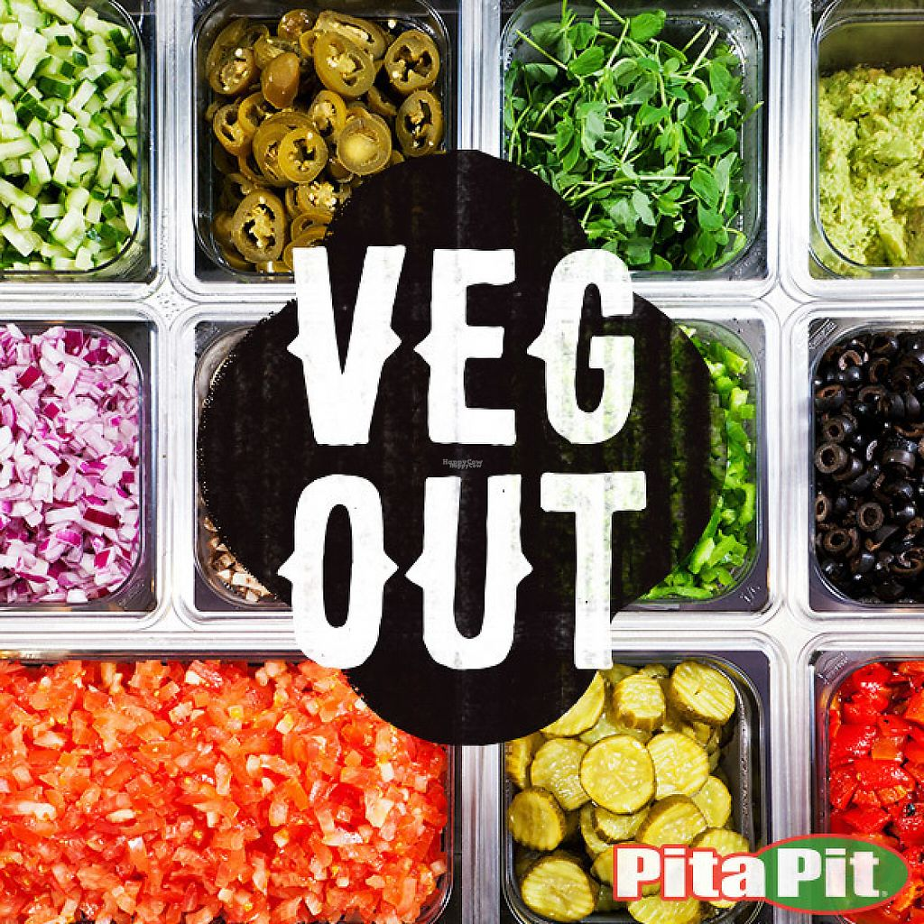 """Photo of Pita Pit  by <a href=""""/members/profile/SarahPitaPit"""">SarahPitaPit</a> <br/>16 Fresh Veggies to choose from <br/> November 15, 2016  - <a href='/contact/abuse/image/82744/190251'>Report</a>"""