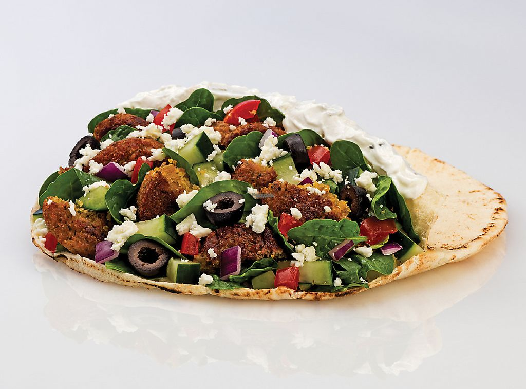 """Photo of Pita Pit  by <a href=""""/members/profile/SarahPitaPit"""">SarahPitaPit</a> <br/>Falafel pita!!! Customized to your liking <br/> November 15, 2016  - <a href='/contact/abuse/image/82744/229161'>Report</a>"""