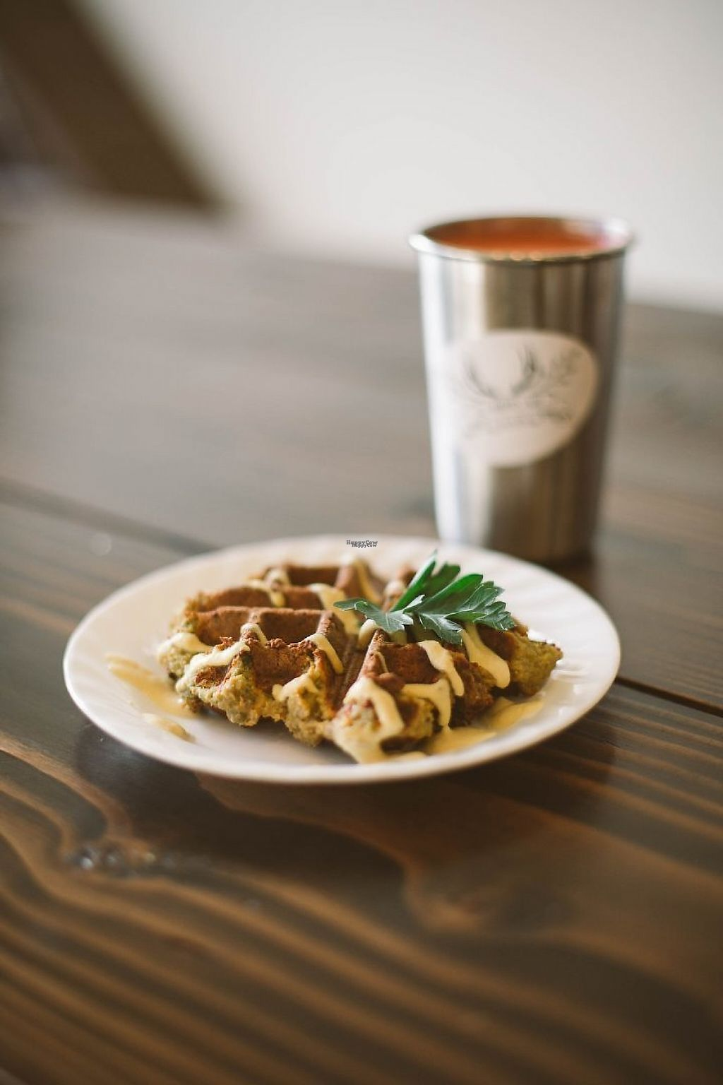 """Photo of The Hunter's Wife Health Bar  by <a href=""""/members/profile/TandiCanterburyRolen"""">TandiCanterburyRolen</a> <br/>Allergy free waffles, weekly lunch specials, organic juice, smoothies and more! <br/> November 14, 2016  - <a href='/contact/abuse/image/82754/190176'>Report</a>"""