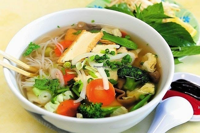 "Photo of Tinh Tam Trai  by <a href=""/members/profile/MaiNgocTran"">MaiNgocTran</a> <br/>Imitation beef noodle soup <br/> February 12, 2018  - <a href='/contact/abuse/image/82788/358543'>Report</a>"