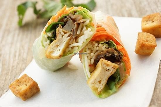"Photo of Tinh Tam Trai  by <a href=""/members/profile/MaiNgocTran"">MaiNgocTran</a> <br/>Vietnamese veggie fresh salad roll <br/> February 12, 2018  - <a href='/contact/abuse/image/82788/358544'>Report</a>"