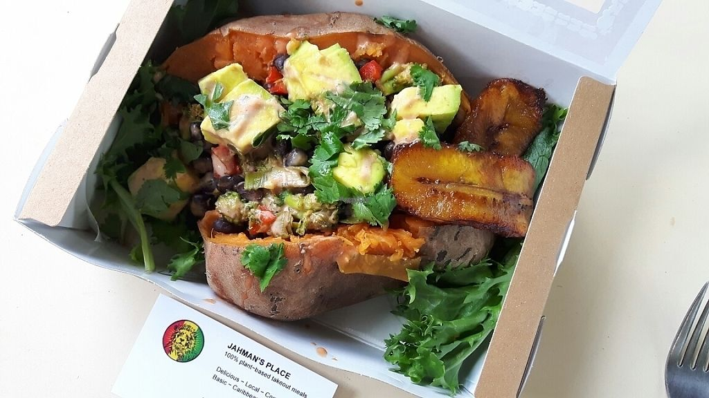 """Photo of Jahman's Place  by <a href=""""/members/profile/dina_v"""">dina_v</a> <br/>Stuffed sweet potato 17/2/2017 <br/> February 17, 2017  - <a href='/contact/abuse/image/82819/227565'>Report</a>"""