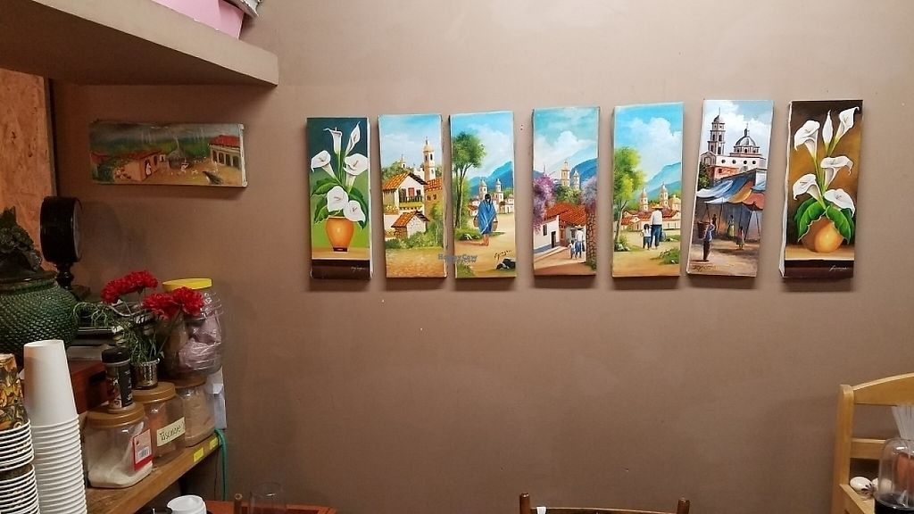 """Photo of Casa Cacao  by <a href=""""/members/profile/kenvegan"""">kenvegan</a> <br/>Vegan art in the kirchen <br/> April 10, 2017  - <a href='/contact/abuse/image/82832/246842'>Report</a>"""